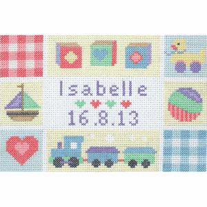 Baby  Birth Record -  Anchor Counted Cross Stitch Kit ACS42