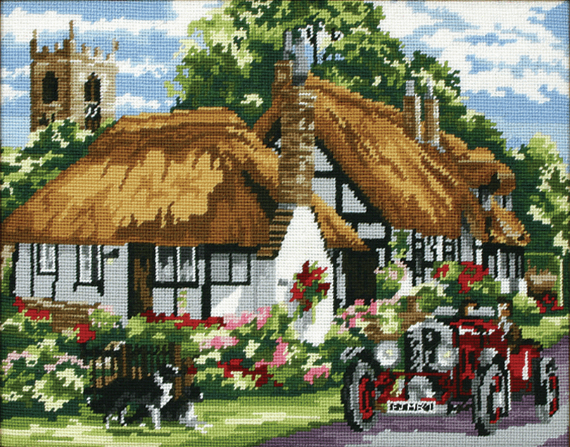 The Village of Welford -  Anchor Tapestry Kit KT129K