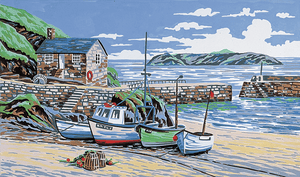 Mullion Cove Cornwall-  Anchor Tapestry Kit KT85K