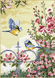 Floral Railings-  Anchor Tapestry Kit MR163