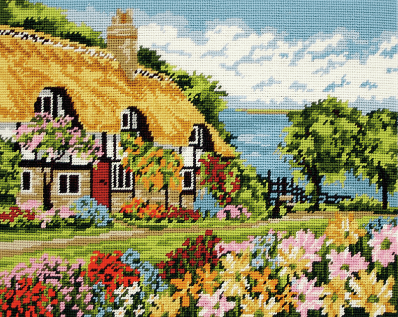 Seaview Cottage -  Anchor Tapestry Kit MR7002