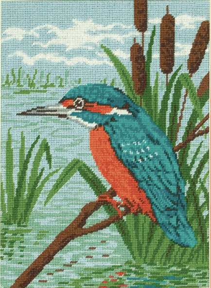 Kingfisher -  Anchor Tapestry Kit MR83332