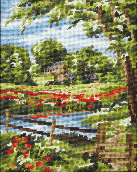 Summer Scene -  Anchor Tapestry Kit MR842