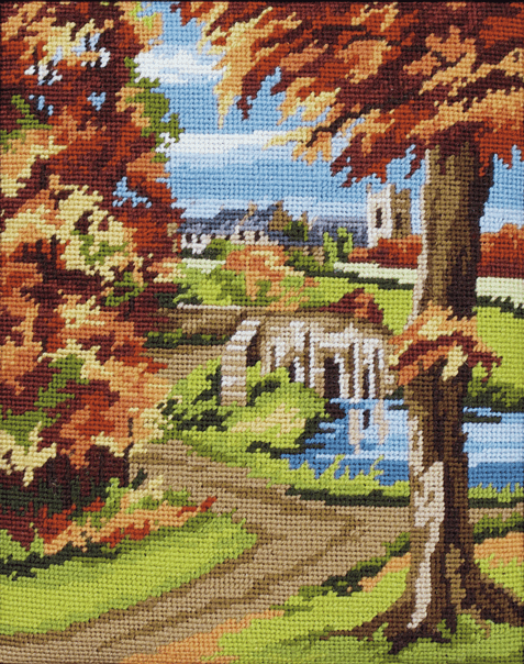 Autumn Scene -  Anchor Tapestry Kit MR843