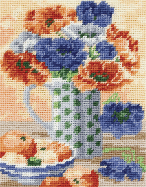 Anemones -  Anchor Tapestry Kit MR937