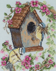 The Bird House  - Anchor Cross Stitch Kit PCE742