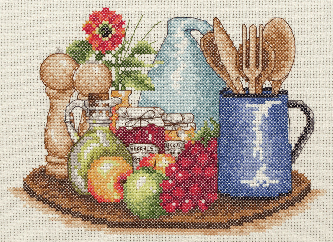 Kitchen  - Anchor Cross Stitch Kit PCE758