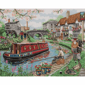 Country Canal - Anchor Cross Stitch Kit PCE936