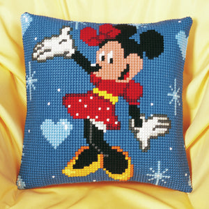Disney's Minnie Mouse -  Vervaco  Cross Stitch Cushion Kit PN-0014584