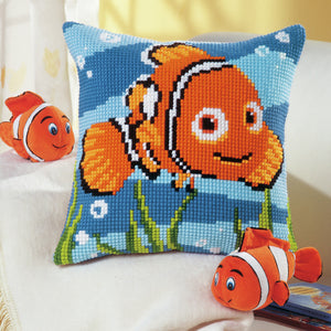 Disney's Nemo -  Vervaco  Cross Stitch Cushion Kit  PN-0014574