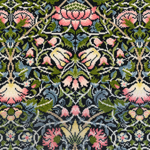 Bell Flower - William Morris - Bothy Threads Cross Stitch Kit XAC5