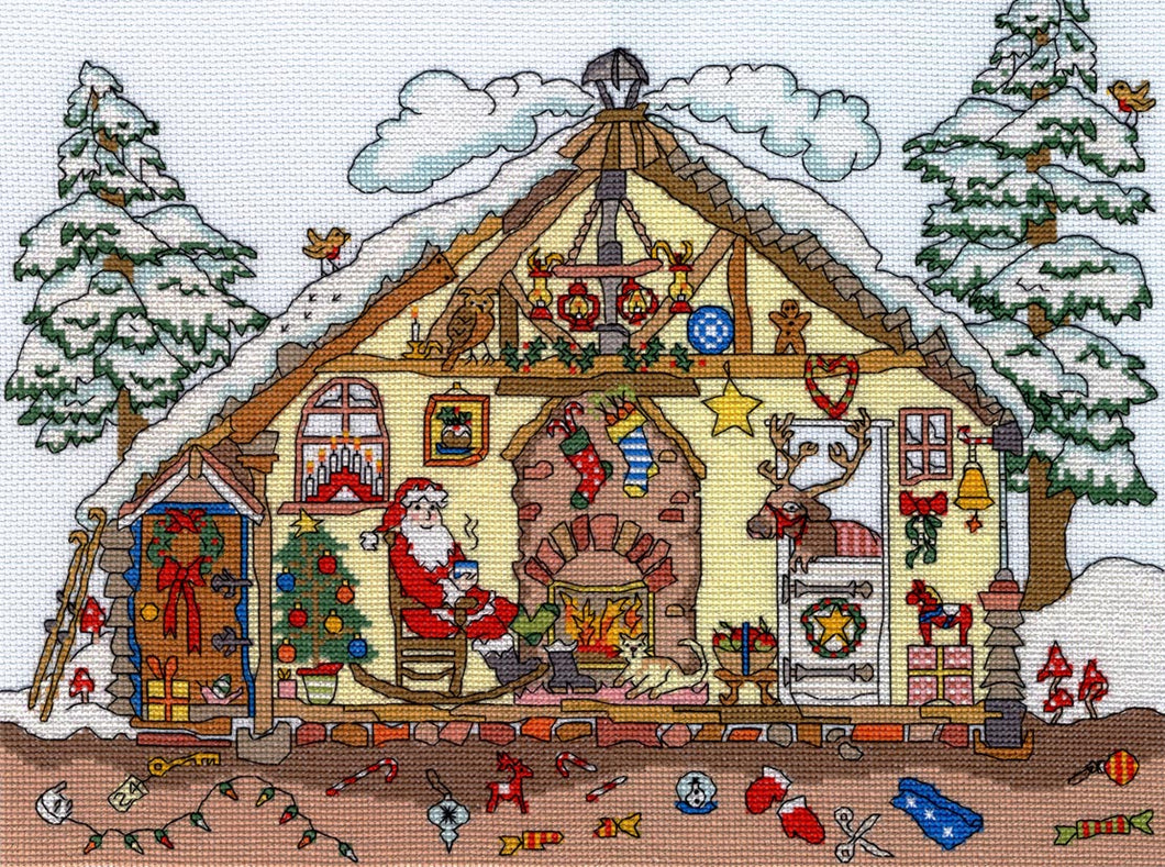 Cut Thru' Christmas -Bothy Threads Cross Stitch Kit XCT32