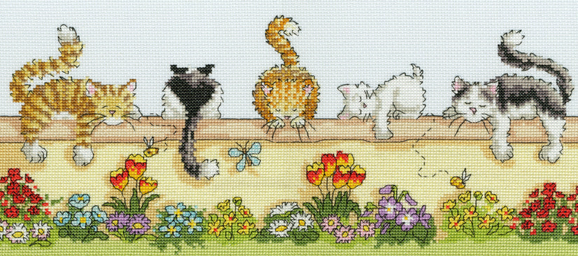 Lazy Cats- Bothy Threads Cross Stitch Kit XGR1