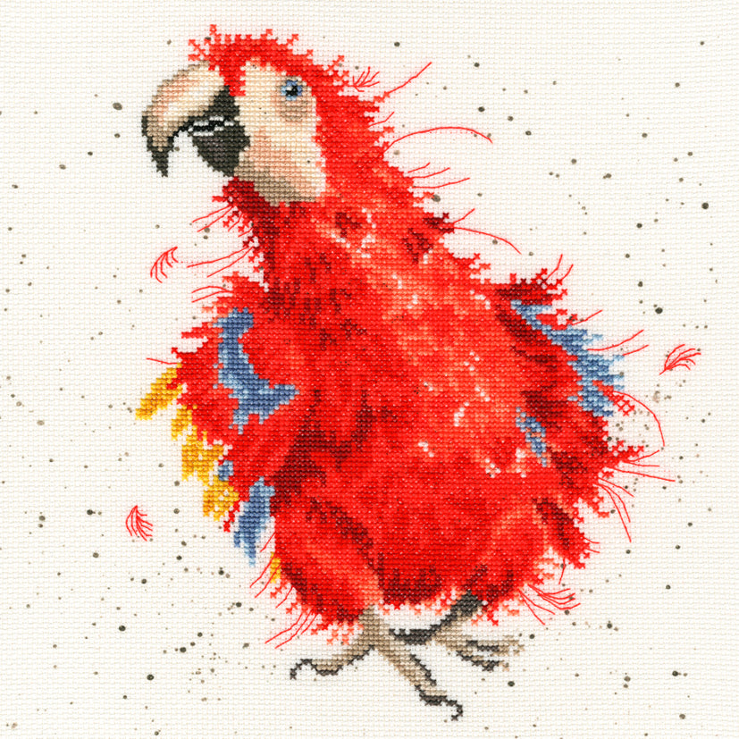 Parrot on Parade - Bothy Threads Cross Stitch Kit XHD26