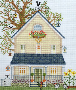 New England Homes: Summer - Bothy Threads Cross Stitch Kit XSS2