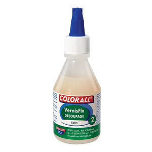 Collall Decoupage Acrylic Varnish Glossy 100ml (COLVDW100GL)