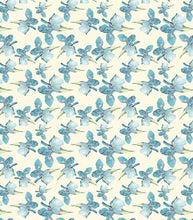 Load image into Gallery viewer, Craft Consortium Blue Iris Decoupage Papers (3 Sheets)  CCDECP031