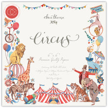 Load image into Gallery viewer, Craft Consortium Circus 6x6 Inch Paper Pad (CCPPAD017B)