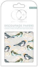 Load image into Gallery viewer, Craft Consortium Fenton Decoupage Papers CCDECP215
