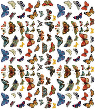 Load image into Gallery viewer, Craft Consortium Flutter Of Butterflies Decoupage Papers (3 Sheets) CCDECP210