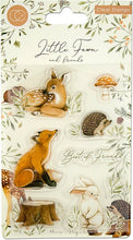 Load image into Gallery viewer, Craft Consortium Little Fawn & Friends Clear Stamps - Best Friends