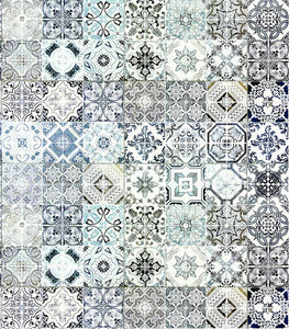 Craft Consortium Ornate Tile Decoupage Papers (3 Sheets) CCDECP342