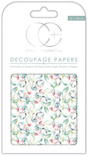 Load image into Gallery viewer, Craft Consortium Sun Kissed Decoupage Papers CCDECP236