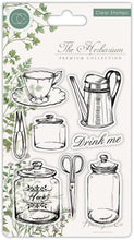 Load image into Gallery viewer, Craft Consortium The Herbarium - Clear Stamp Set - Utensils - Clear Stamp Set CCSTMP012