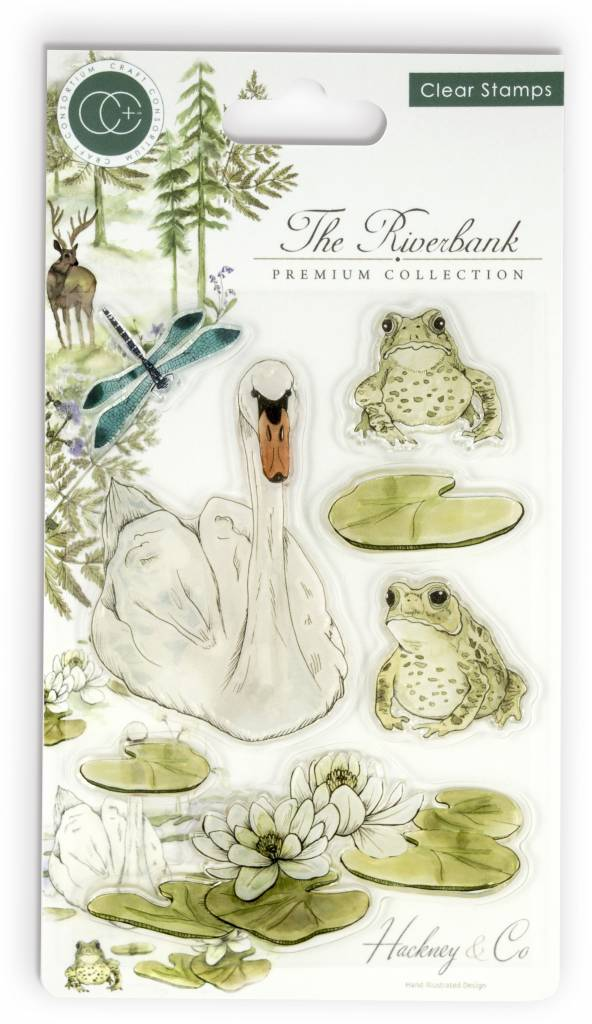 Craft Consortium The Riverbank - Clear Stamp Set CCSTMP009