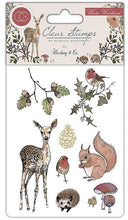 Load image into Gallery viewer, Craft Consortium Winter Woodland - Clear Stamp Set CCSTMP003