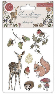 Craft Consortium Winter Woodland - Clear Stamp Set CCSTMP003