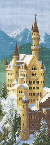 Neuschwanstein Castle Heritage Crafts Cross Stitch Kit JCNC620
