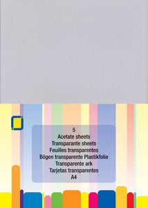 Acetate Sheets A4 (5 Sheets) by JEJE Produkt 3.1000