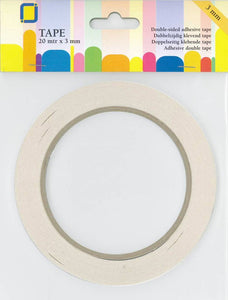 Double Sided Adhesive Tape 3mm  x 20m by JEJE Produkt 3.3193