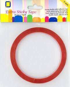 Extra Sticky Double Sided Adhesive Tape 9mm  x 10m by JEJE Produkt 3.3189