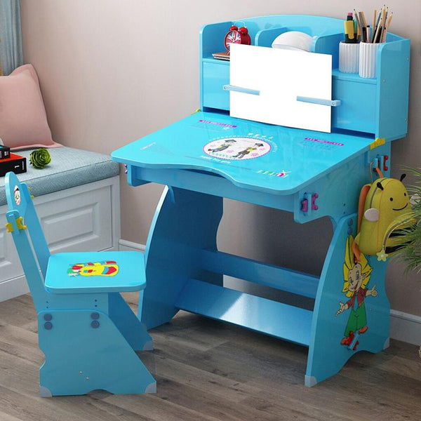 Children's Combined Study Table Work Table Can Be Raised And Lowered