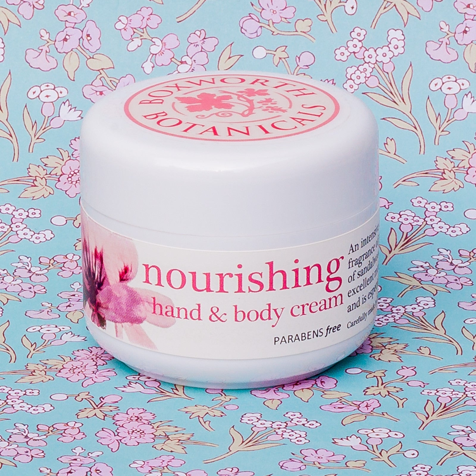 Nourishing Hand Cream in handbag size 30ml pump