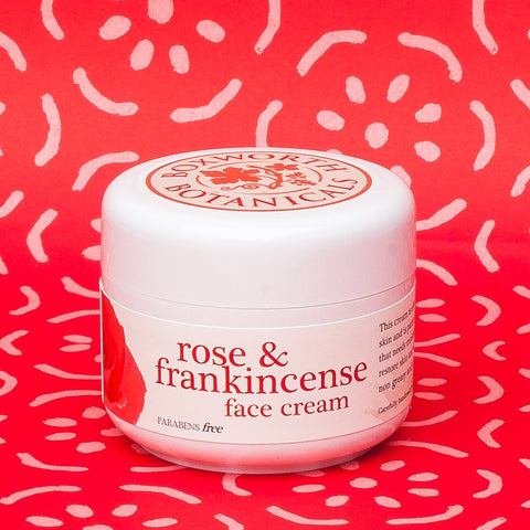 Rose & Frankincense Face Cream