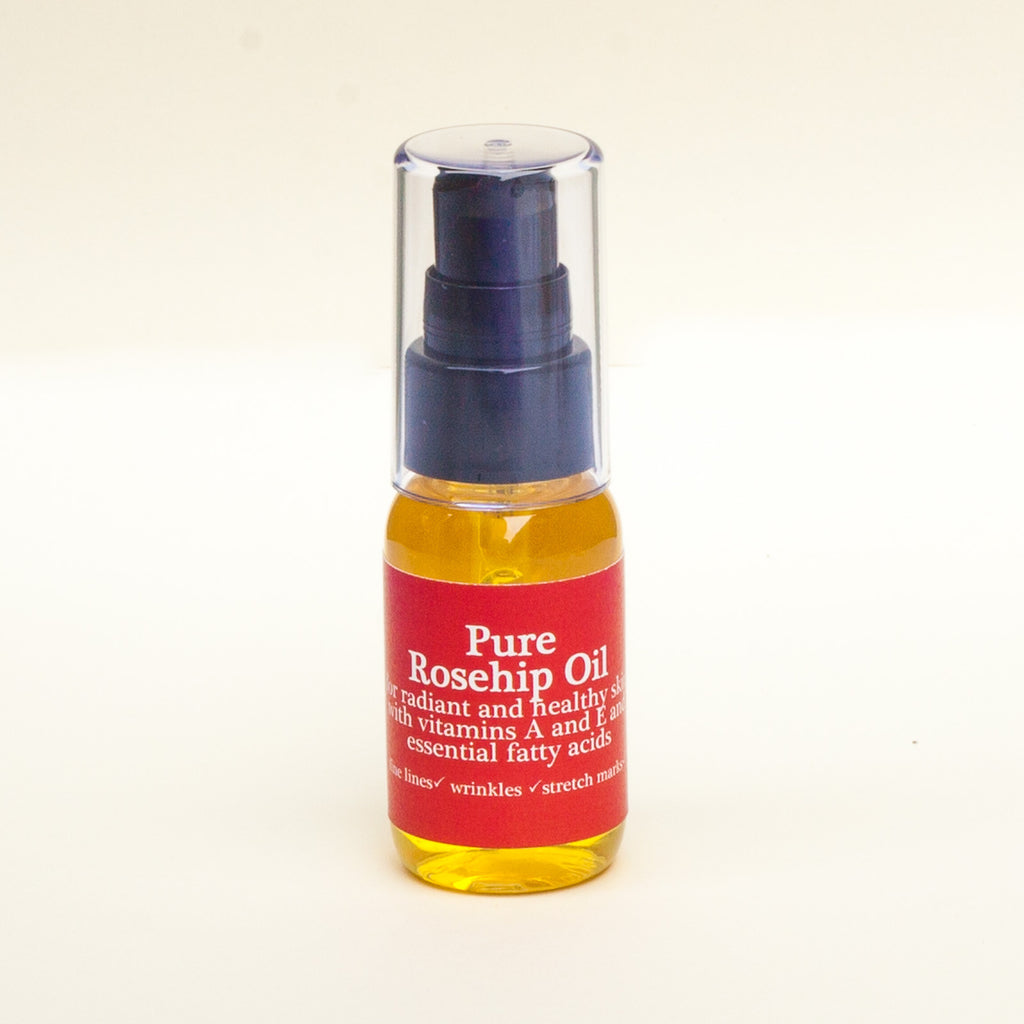 Rosehip oil to improve skin moisture levels