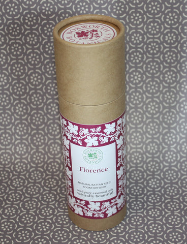 Aromatherapy Reed Diffuser Florence with citrus notes