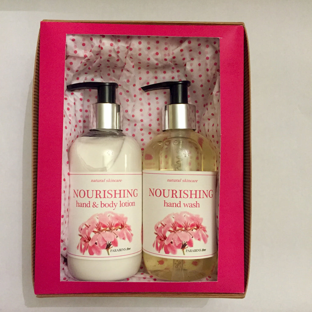 Nourishing Hand Wash & Lotion Gift Set