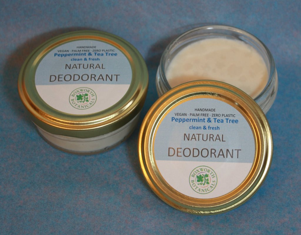 Natural Deodorant Peppermint & Tea Tree