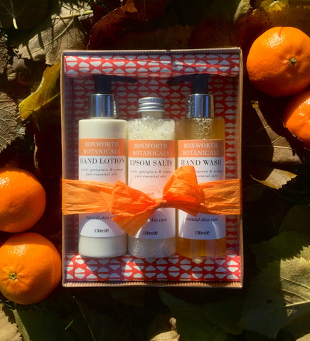 Luxury Skincare set- Neroli, Petitgrain and Orange