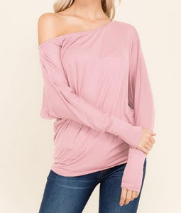 2 Hearts Demi dolman blouse