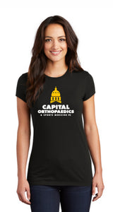 Capital Orthopaedics - DT155  District ® Women's Fitted Perfect Tri ® Tee