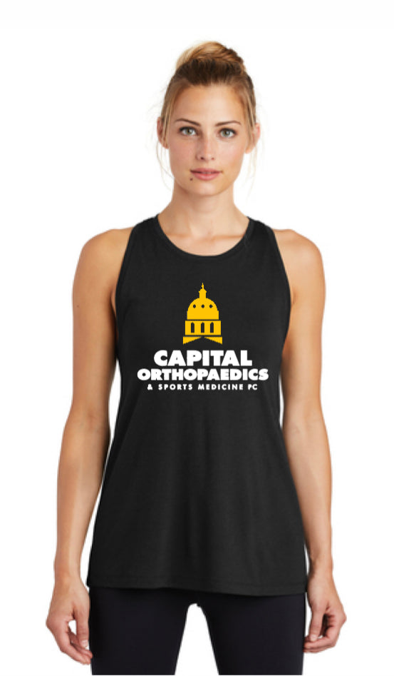 Capital Orthopaedics LST402  Sport-Tek® Ladies PosiCharge® Tri-Blend Wicking Tank
