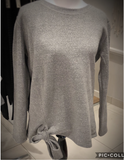 Side Tie Sweatshirt by Mono B
