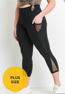 Mono B - Kara crop leggings