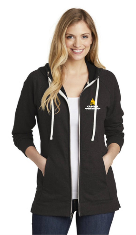 Capital Orthopaedics - DT456  District ® Women's Perfect Tri ® French Terry Full-Zip Hoodie