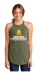 Capital Orthopaedics DT137L District ® Women's Perfect Tri ® Rocker Tank